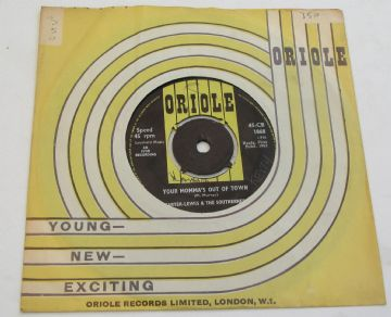 "Carter-Lewis And The Southerners YOUR MOMMA'S OUT OF TOWN 1963 UK 7"" EX+ AUDIO"